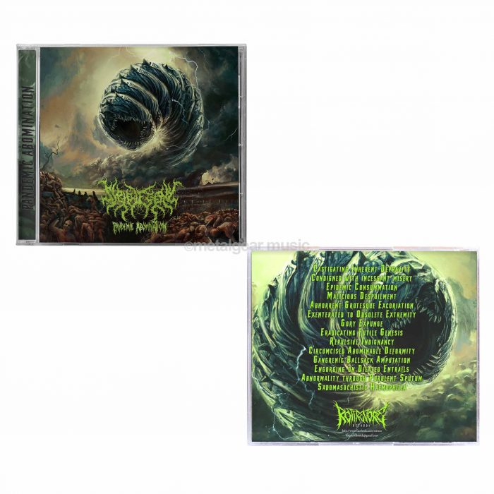SYPHILECTOMY – PANDEMIC ABOMINATION | CD